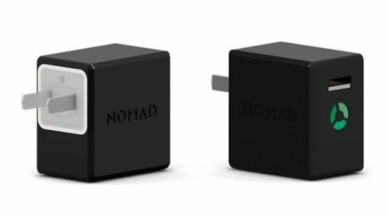 电源插头+移动电源二合一 NomadPlus售240元