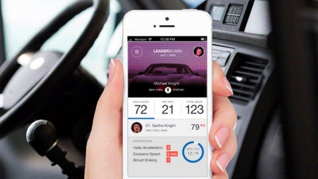 驾驶习惯与性能追踪装置Dash 给汽车用的Fitbit