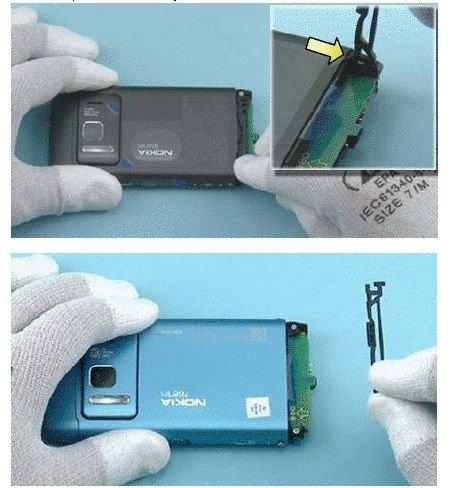 再现新特色 诺基亚N8更换电池教程曝光