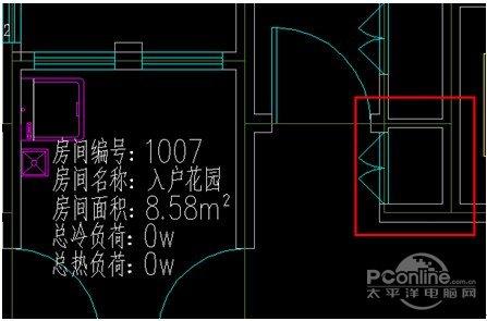 浩辰cad教程 暖通之房间编号自动布置