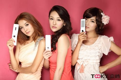 Tooky手机叫响中国市场 T时代来临