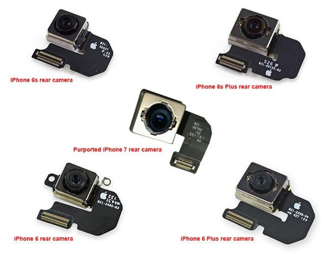 iPhone 7摄像头模块曝光 或标配光学防抖