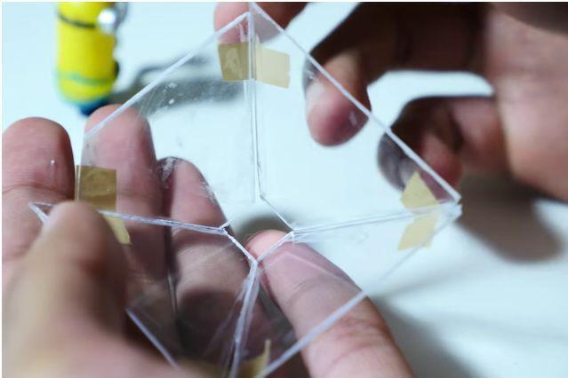 简单五步让你用智能手机体验全息投影技术