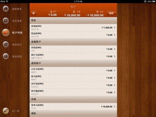 你不理财财不理你 iPad随手记专业版评测