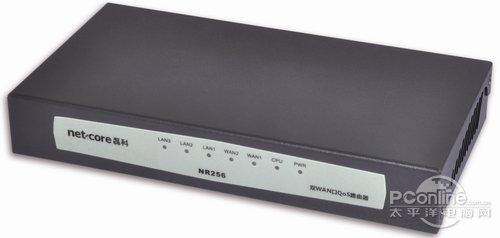 双WAN口多功能路由 磊科NR256震撼268元