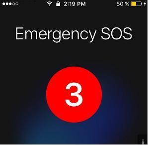 iOS 10.2再次更新 新增SOS紧急呼叫功能