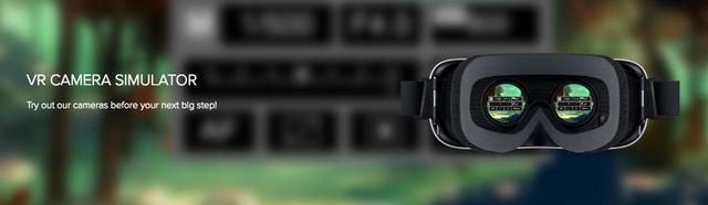 佳能虚拟现实模拟器能让你在家对比体选镜头