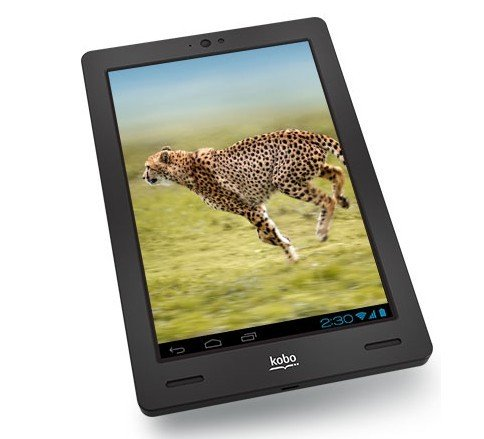 传Kobo Arc 10平板搭Tegra 4及2560 x 1600屏