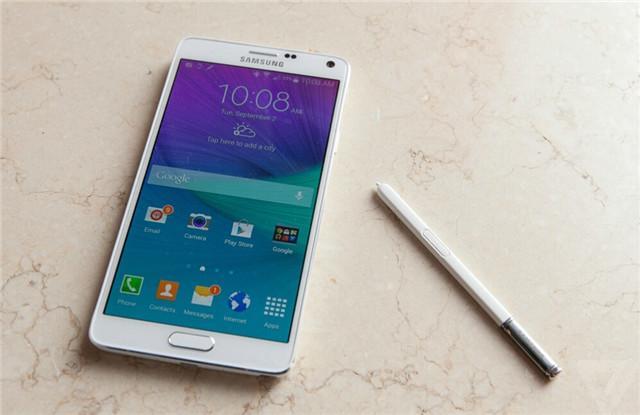 三星:电磁笔和显示屏使得Note 4优于iPhone 6
