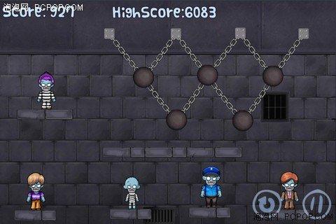 沉重铁球横扫僵尸 iPhone游戏致命铁球