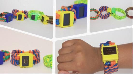 看看8歲小男孩制作的3D打印智能手表