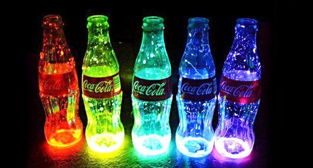 diy夜光瓶吧
