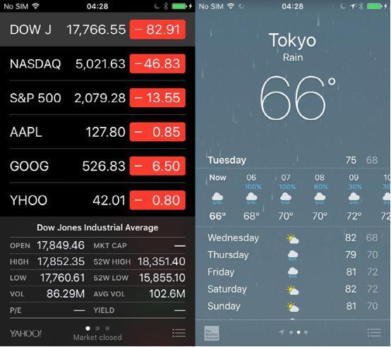 iOS 9系统全新San Francisco字体截图对比