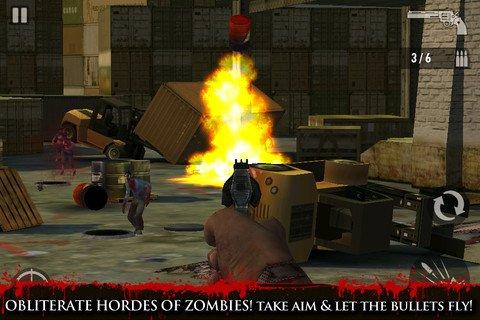 iPad射击游戏大作 职业狙击手僵尸对决