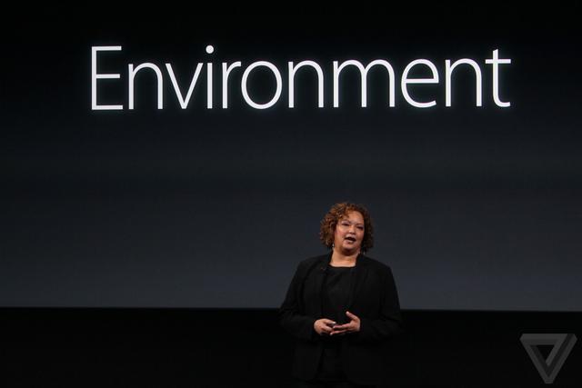 苹果环境事务副总裁:在华实现100%可再生能源