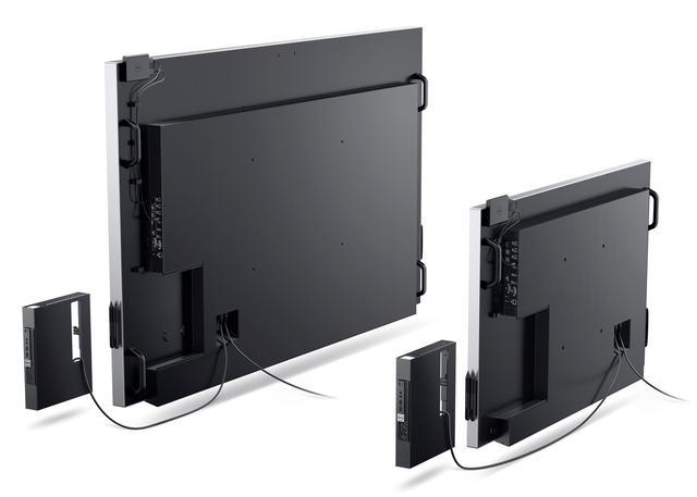 戴尔挑战Surface Hub 推两款巨型触摸显示器
