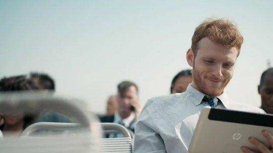 神秘惠普平板现身广告 运行Windows 8