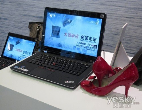 搭载固态硬盘 2G独显i5芯小黑E420s特价