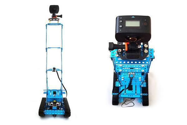 用机器人和全景相机破案 这个方案要给满分