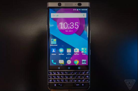 TCL展示黑莓Mercury手机 只给看没公布任何数据