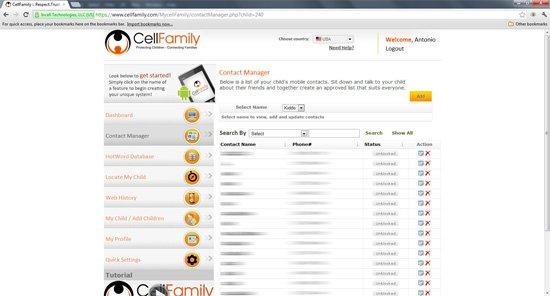 CellFamily:父母必备的手机监控工具