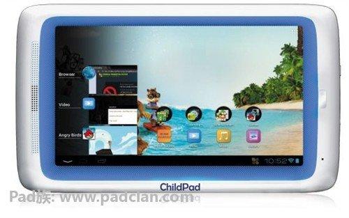 儿童专用平板推出 配安卓4.0售139美元