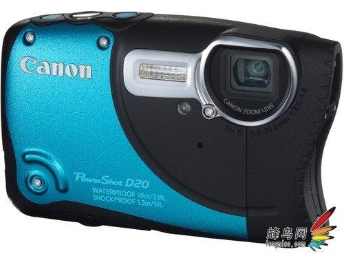 佳能宣布PowerShot D20三防DC日本上市