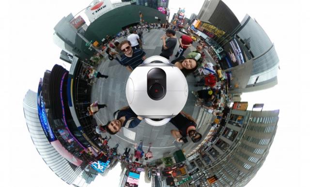 Gear VR设备出新品:手持式360度全景相机曝光