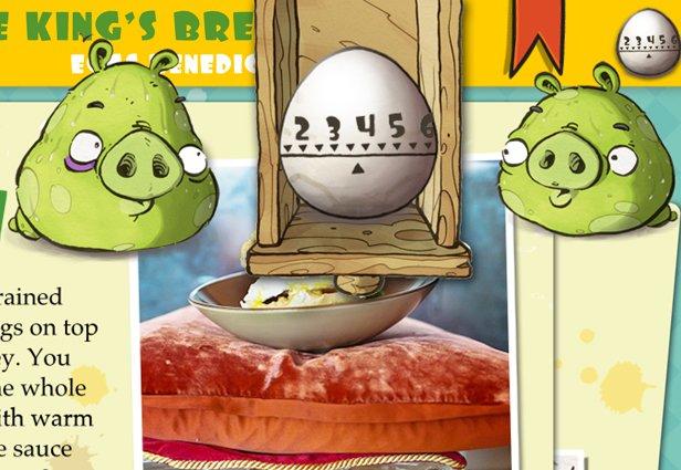 出人意料的新作 怒鸟公司食谱应用上架AppStore