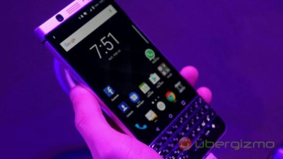 黑莓全键盘中端新机KeyOne将推迟到5月上市