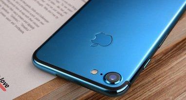 亮蓝色iPhone 7开箱:骚到极致