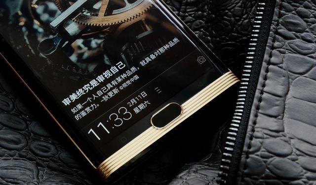 金立M2017活体指纹检测,打造手机安全新神器