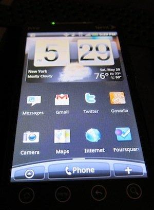 一个iPhone爱好者眼中的HTC EVO 4G
