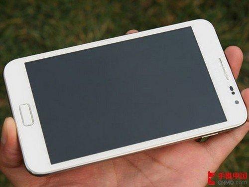 9日行情:三星巨屏手机NOTE白色版到货