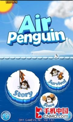 飞翔的企鹅安卓_重力弹跳防止落水 飞翔的企鹅Android版_数码_腾讯网