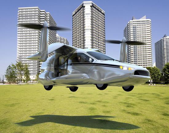 6款超酷的飞行交通工具 最快2017年上市