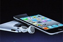 苹果发布第四代iPod touch
