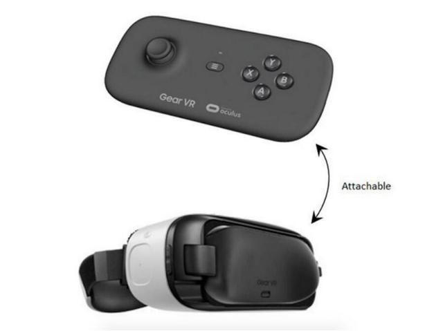 新款三星Gear VR还长那样 只是配了专用控制器