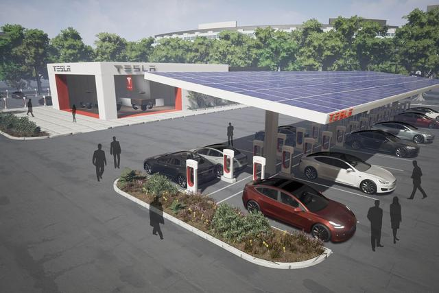 特斯拉准备把Supercharger充电站数量翻一番