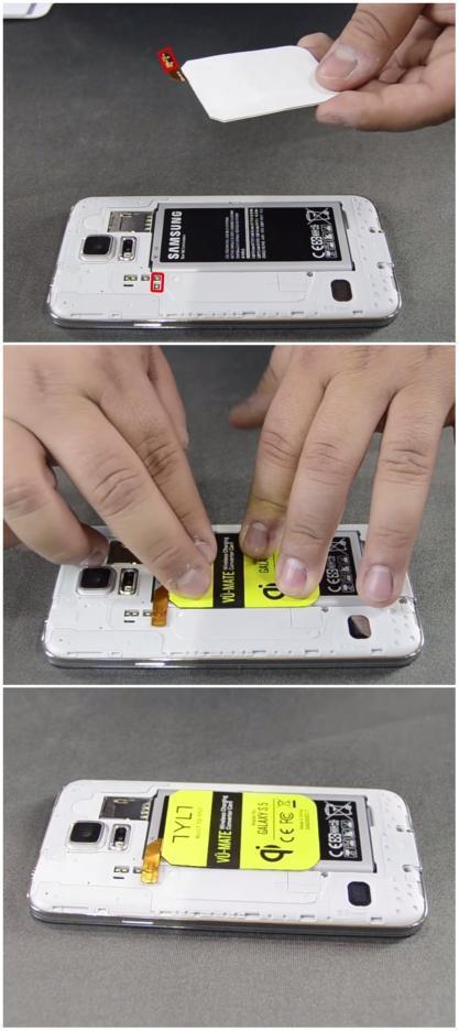 教你如何为智能手机增加无线充电功能