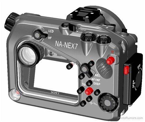 专为索尼微单NEX-7设计的潜水罩发布