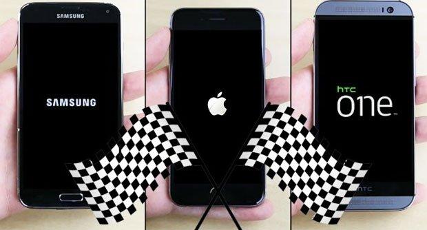 iPhone 6/GALAXY S5/HTC One M8�����ٶȲ���