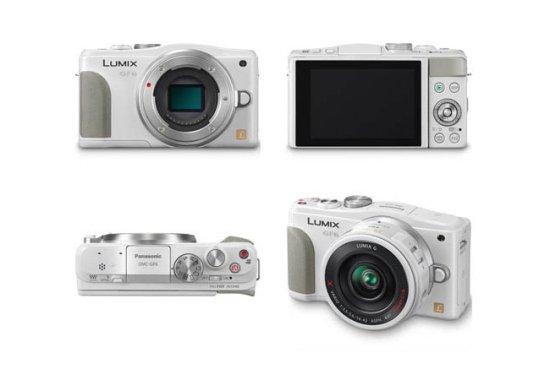 松下数码相机lumix gf6白色版效果图曝光图片