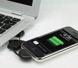 iPhone同步数据线钥匙扣