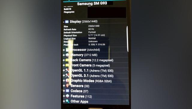 传5.7寸双曲屏S7 edge+要来了 配自家处理器