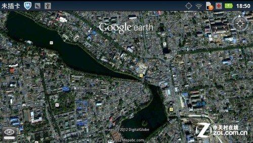 掌中卫星实景 安卓卫星地图google earth