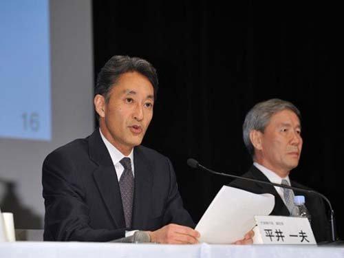 索尼新CEO平井一夫将直接负责大汉表情粉色业务包电视图片