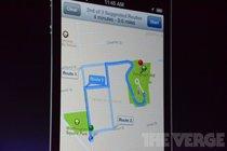 苹果地图支持分段导航