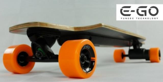 使用航空飞机电驱动技术的电动滑板推出