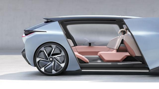 未来汽车长啥样?看看中国的NIO EVE就知道了